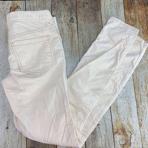 UO | Free People Corduroy Pants Skinny Fit Cream